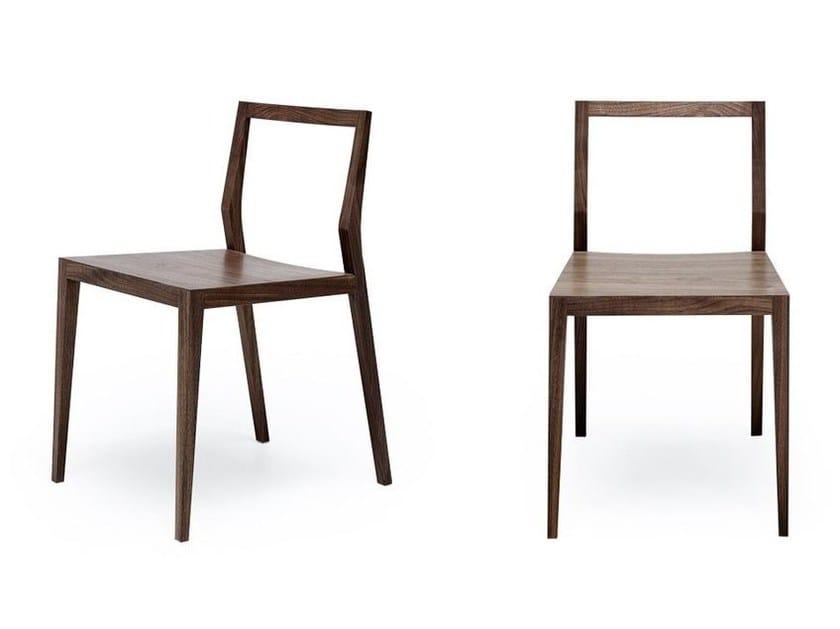 Bon Open Back Wooden Chair GHOST | Open Back Chair By MINT FACTORY