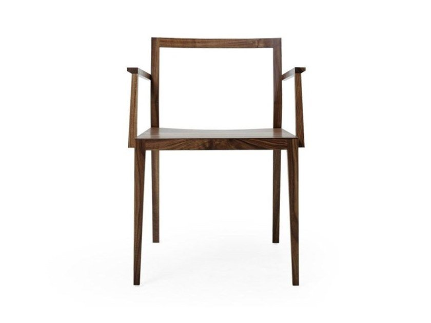 Chair MINT FURNITURE - GHOST PLUS Walnut by Archiproducts.com