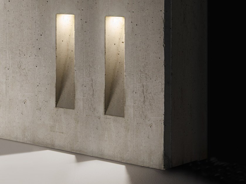 LED cement steplight GHOST | Steplight by SIMES