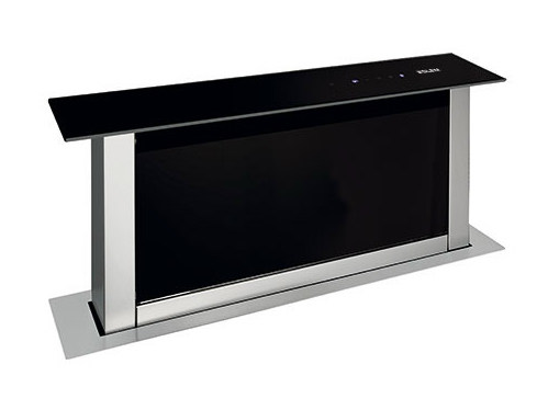 Slide-out metal downdraft GHVP68BK | Cooker hood by Glem Gas
