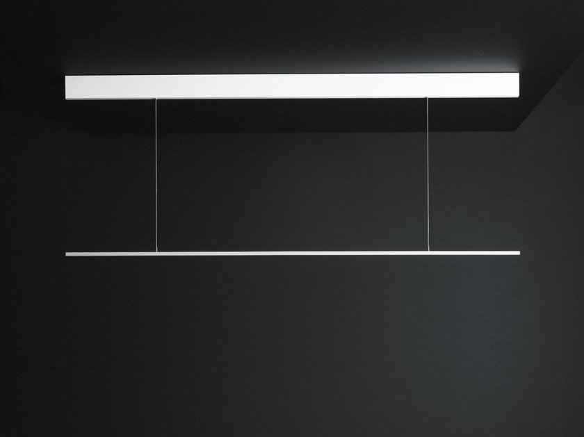 Lampada a sospensione a LED a luce diretta in alluminio GIÒ by Boffi