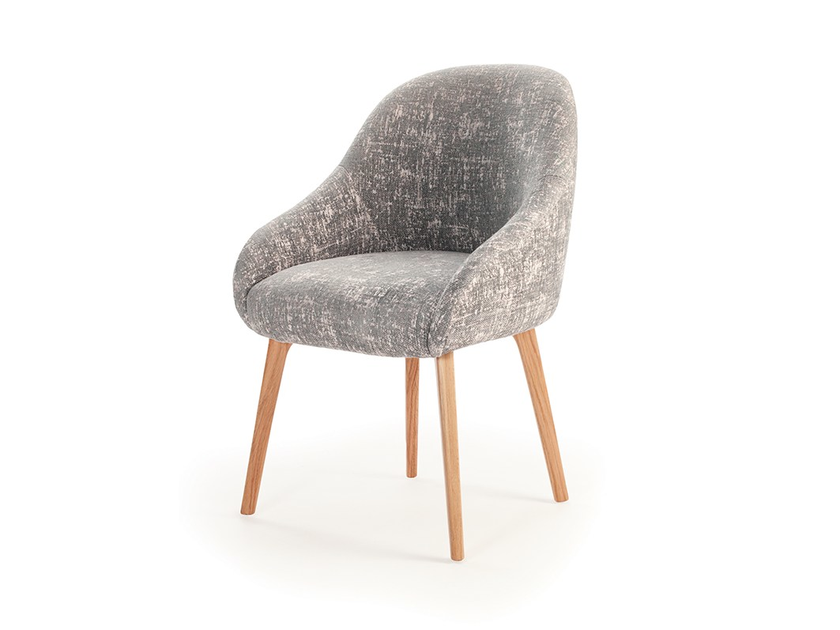 Upholstered fabric easy chair GIA by Mambo Unlimited Ideas