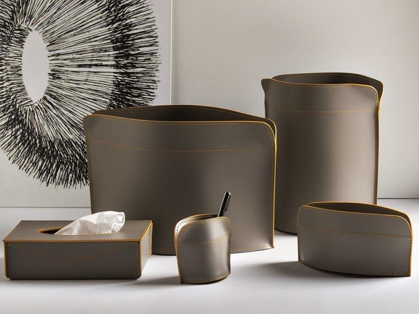 Set da scrivania in pelle GIACOMO by LIMAC design FIRESTYLE