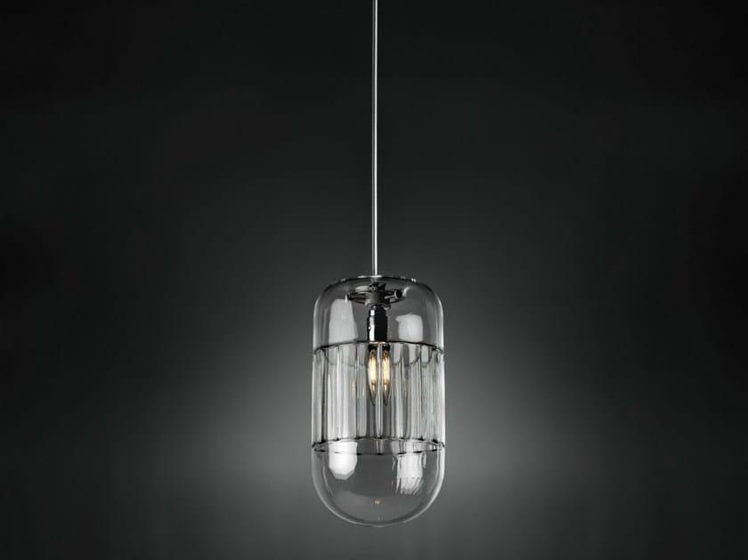 Glass pendant lamp GIADA by ILIDE