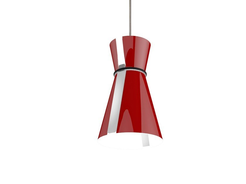 LED PMMA pendant lamp GIADA by Makris