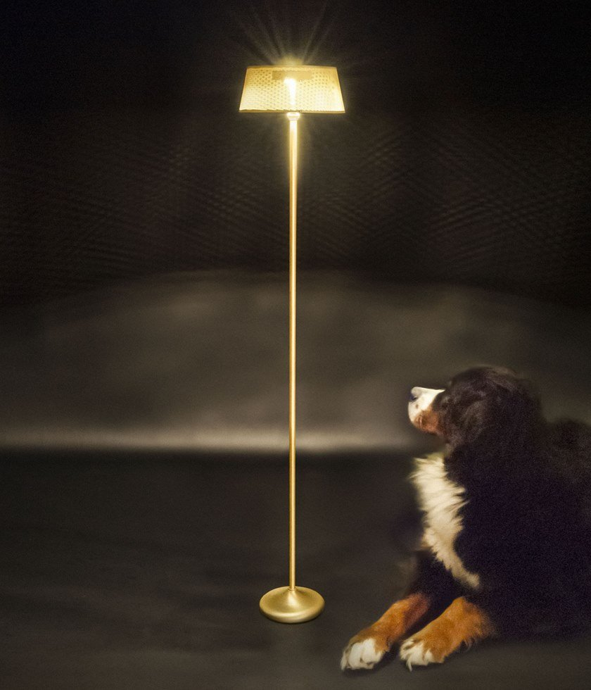 LED floor lamp with rechargeable battery GIADINA | Floor lamp by ANNA LARI