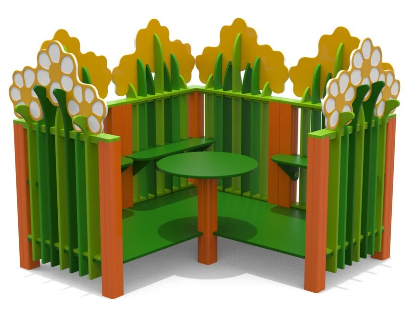 Polyethylene Playhouse for playground GIARDINO by Stileurbano