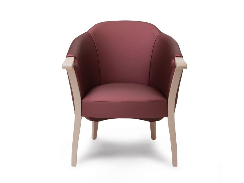 Fabric armchair with armrests GIBAO | HEALTH & CARE | Armchair by PIAVAL