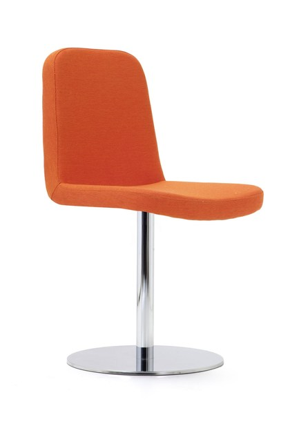 Swivel upholstered fabric chair GIBBS SMALL | Swivel chair by Domingo Salotti