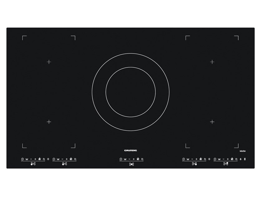 Induction built-in glass hob GIEI 927561 HN | Induction hob by Grundig