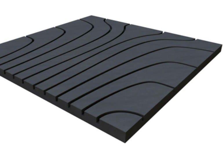 Gypsum fiber Radiant floor panel GIFAFLOOR KLIMA by Knauf Italia