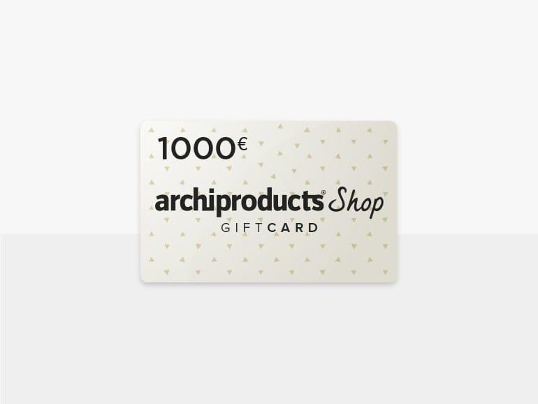 Carta regalo del valore di 1000 € GIFT CARD 1000 by Archiproducts.com