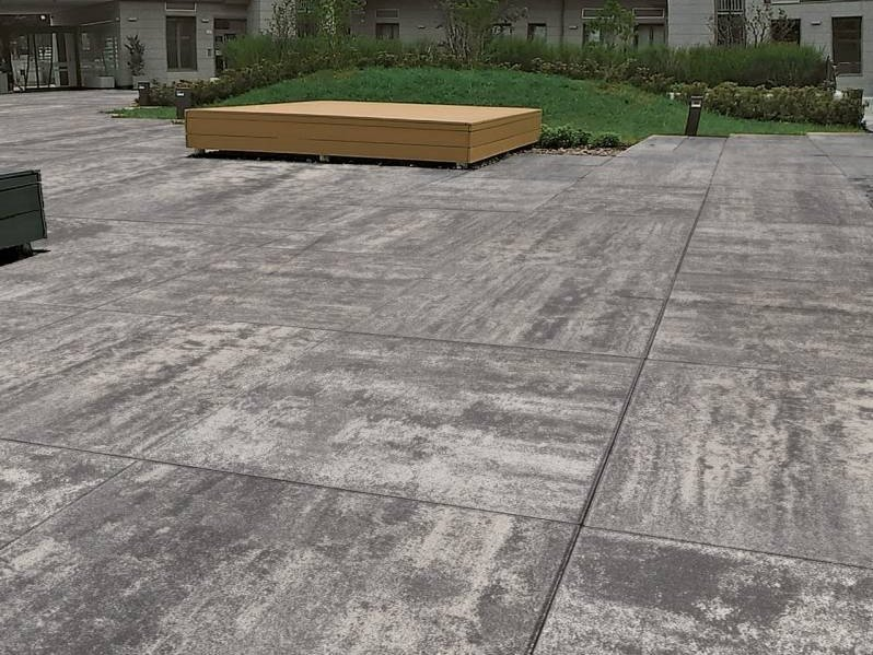 Concrete paving block GIGA 100 by RECORD - BAGATTINI