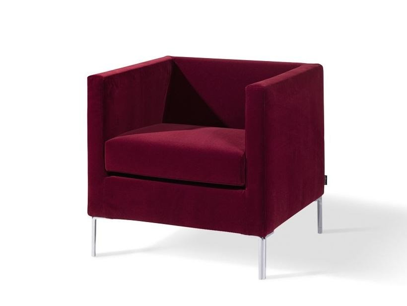 Armchair with armrests GIGLIO by Arketipo
