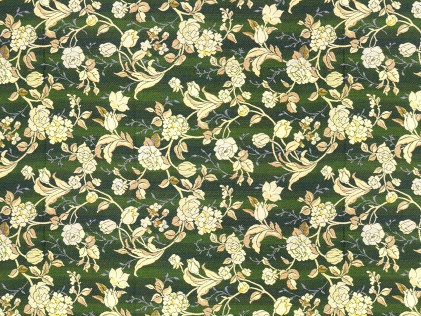 Cotton fabric with floral pattern GINA by Gancedo
