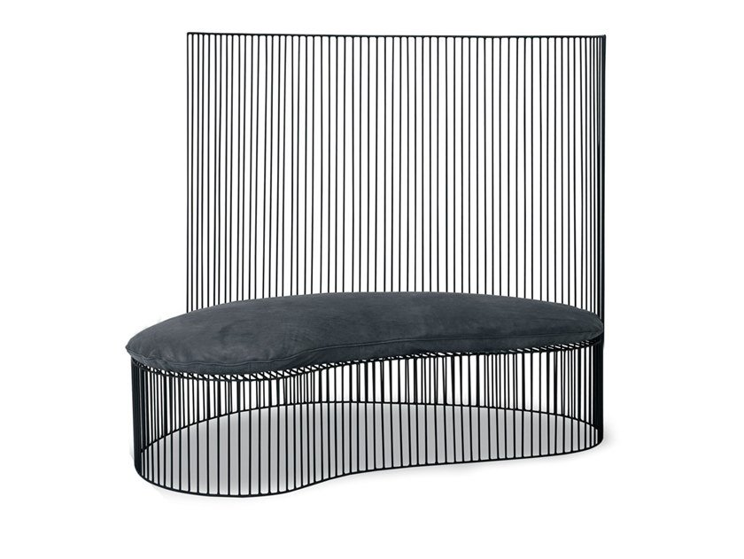 High-back bench GINESTRA   Bench by BAXTER