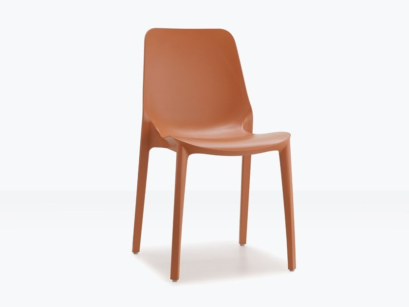 Stackable technopolymer chair GINEVRA | Stackable chair by SCAB DESIGN