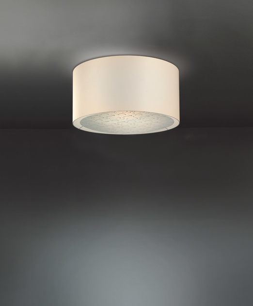 Direct light fabric ceiling l& GINGER | Ceiling l& by Lucente & GINGER | Ceiling lamp By Lucente azcodes.com