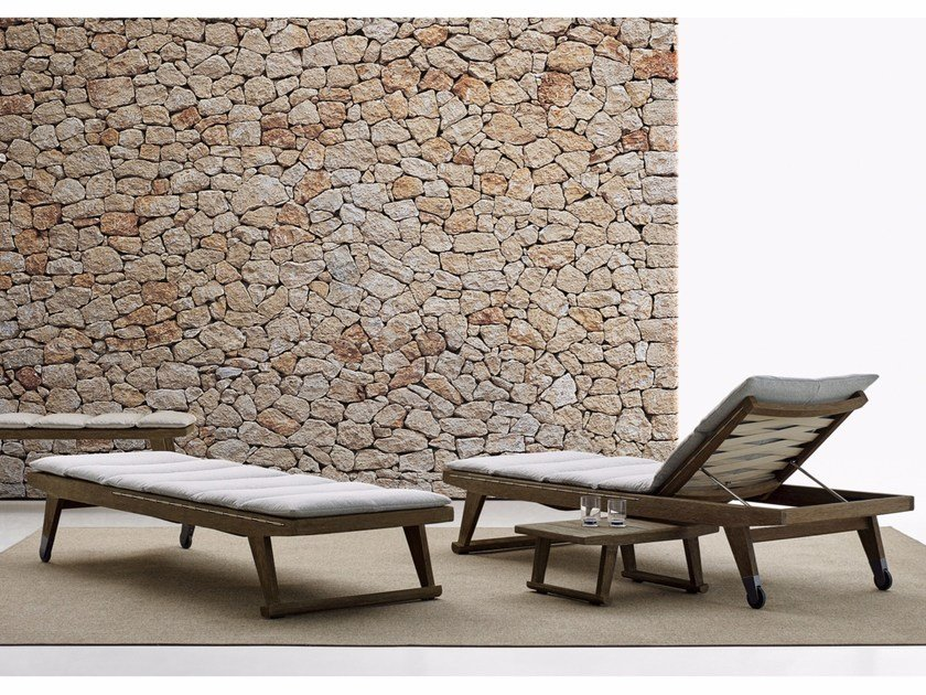 Recliner garden daybed GIO | Garden daybed by B&B Italia Outdoor