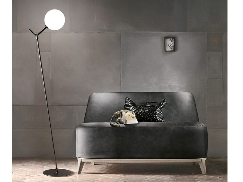 Metal floor lamp GIOCONDA | Floor lamp by Adriani e Rossi edizioni