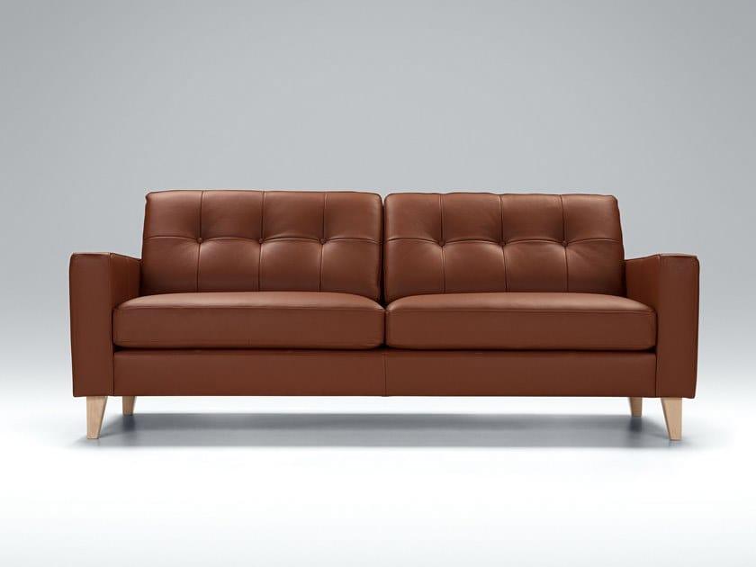 Tufted 3 seater fabric sofa GIORGIO | Sofa by Sits