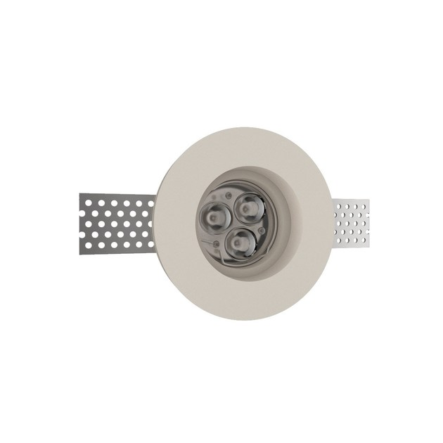 LED recessed gypsum spotlight GIOTTO 1 TONDO by NEXO LUCE