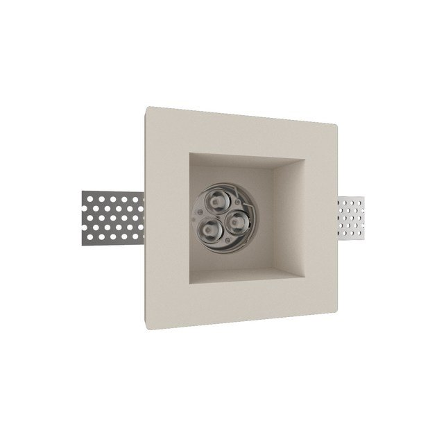 LED recessed gypsum spotlight GIOTTO 2 Q by NEXO LUCE