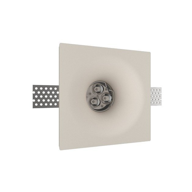 LED recessed gypsum spotlight GIOTTO 2 TONDO by NEXO LUCE