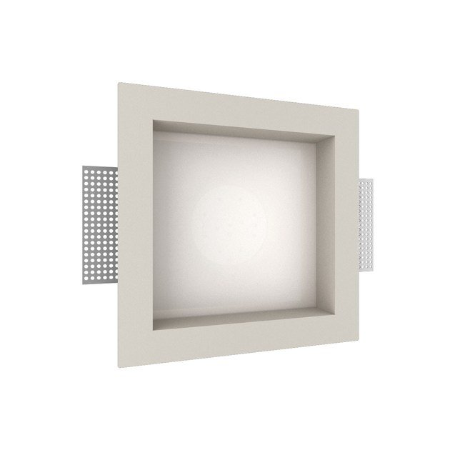 LED recessed gypsum spotlight GIOTTO 3 Q by NEXO LUCE
