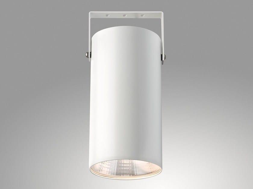 Faretto a LED orientabile in alluminio a soffitto GIOTTO 7615 ST by Metalmek