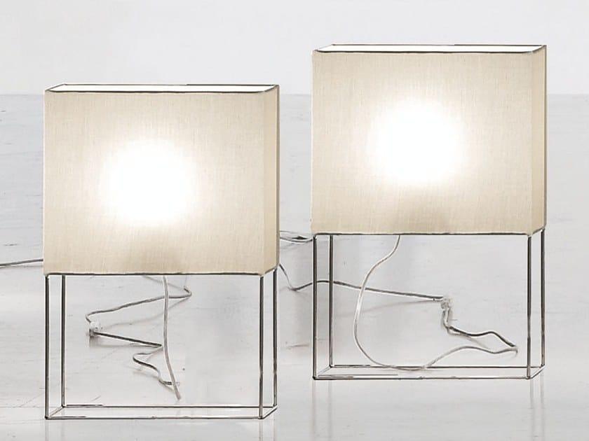 Fabric table lamp GIOVE by Adriani e Rossi edizioni