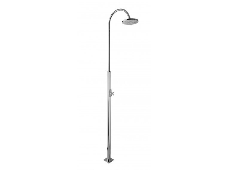 Stainless steel outdoor shower GIOVE by Ama Luxury Shower