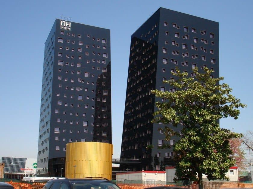 Steel Ventilated facade GIOVE by DALLERA TECNOLOGIE
