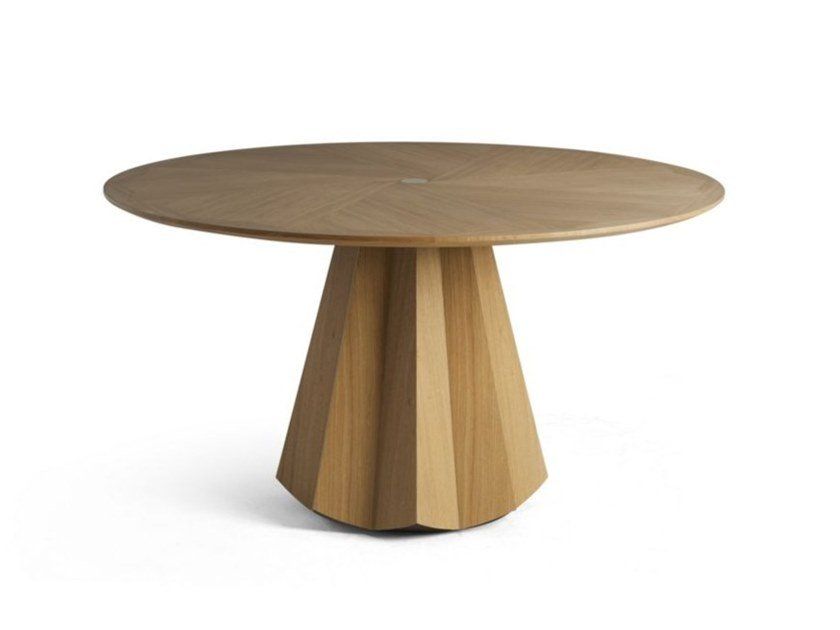 Round dining table GIRASOL by Roche Bobois