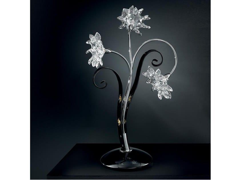 Lampada da tavolo con cristalli Swarovski® GIRASOLE | Lampada da tavolo by IDL EXPORT