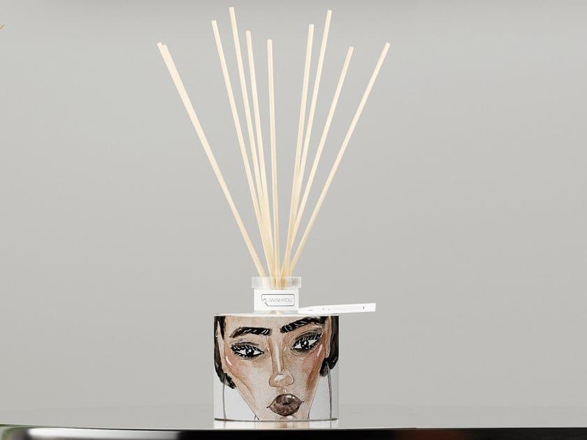 Natural stone Air freshener dispenser GIRLS Prestige - Uva e Mirtilli by IWISHYOU