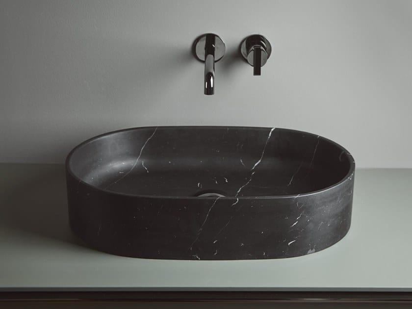 Countertop Solid Surface washbasin GIRO | Oval washbasin by INBANI