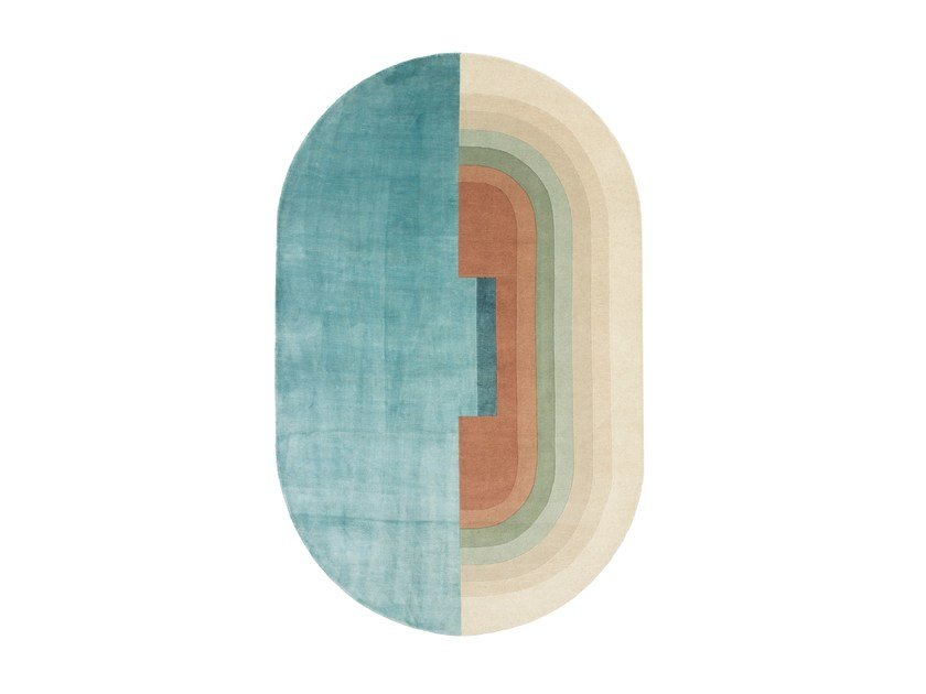 Handmade custom rug GIUDECCA by cc-tapis