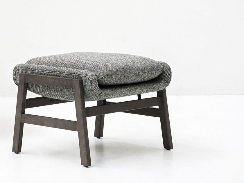 Fabric footstool GIULIA | Footstool by Tacchini