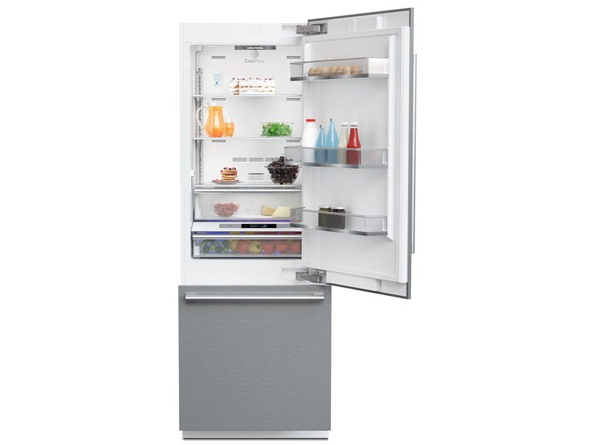 Freestanding combi no frost refrigerator Class A + + GKKI 7220 X | Combi refrigerator by Grundig