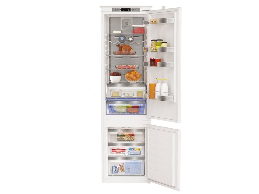 Combi built-in refrigerator with freezer GKNI 25920 by Grundig