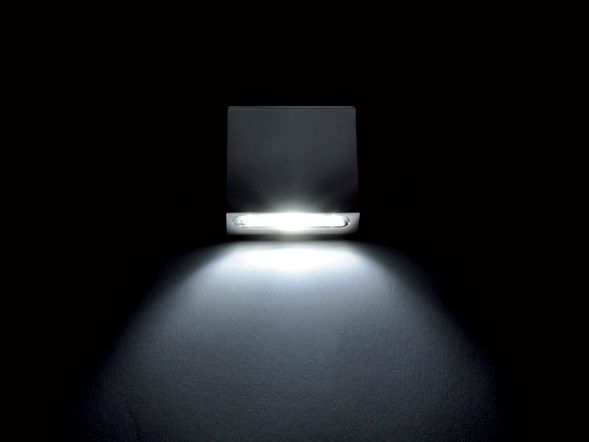 LED direct light wall light GLADIS 1L by Quicklighting
