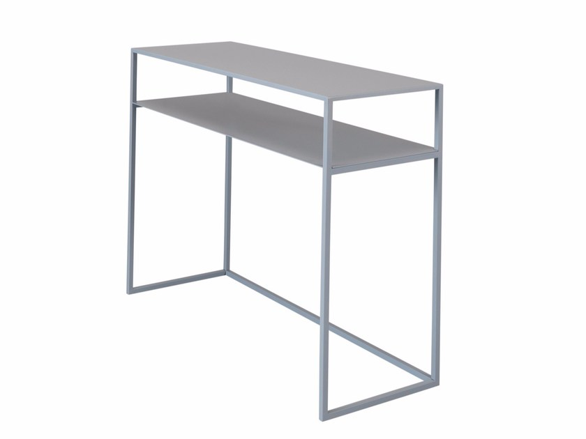 Rectangular steel console table GLADYS by AZEA