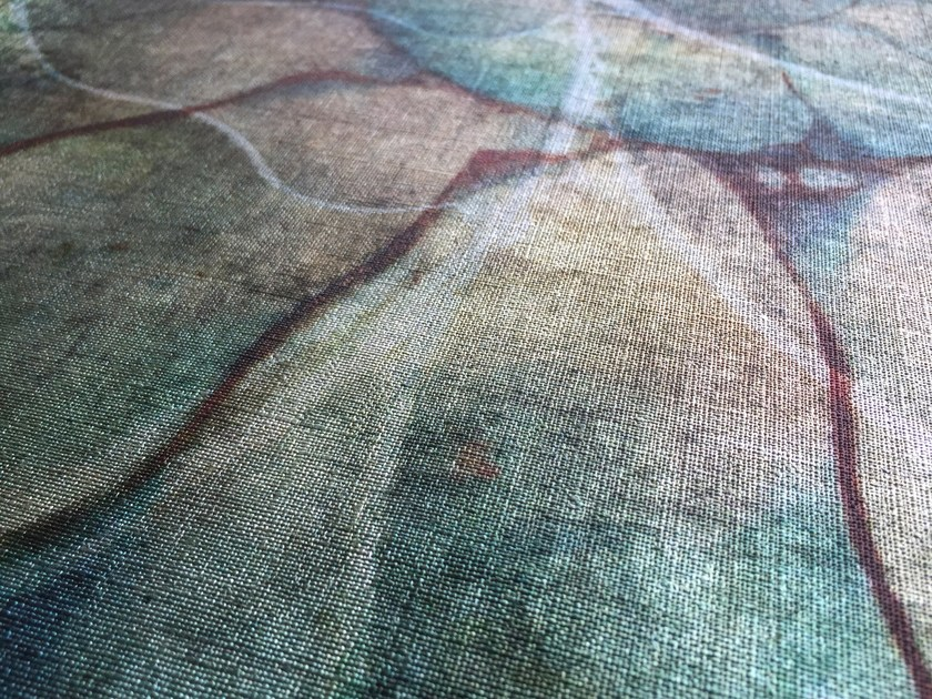 Vinyl wallpaper with metallic effect GLAM-METAL by GLAMORA