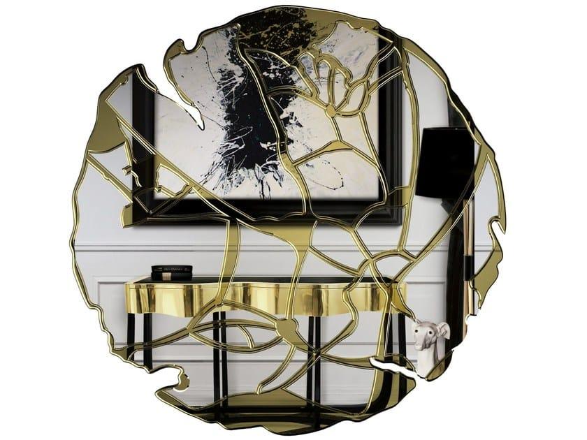 Round wall-mounted mirror GLANCE by Boca do Lobo