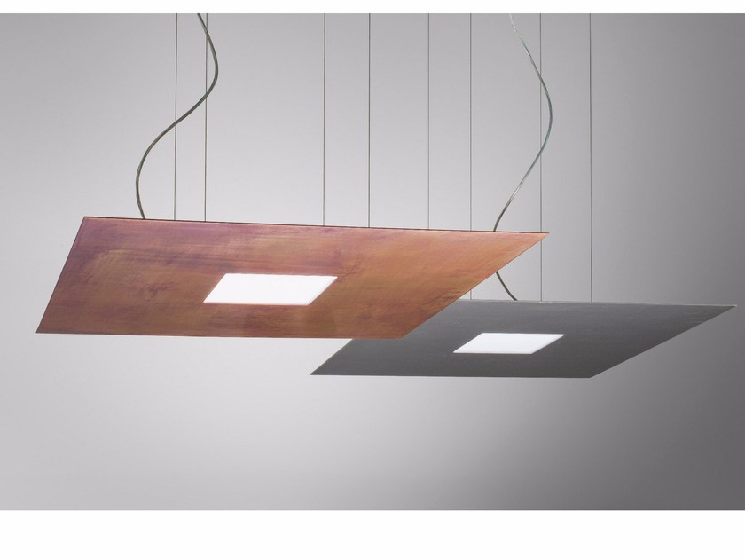 LED metal pendant lamp GLARE by Olev