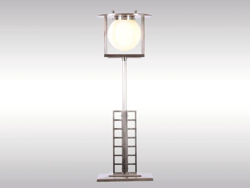 Brass table lamp GLASGOW2 by Woka Lamps Vienna