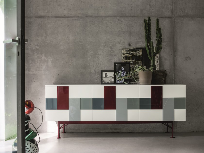 GLASS | Sideboard By Dall\'Agnese