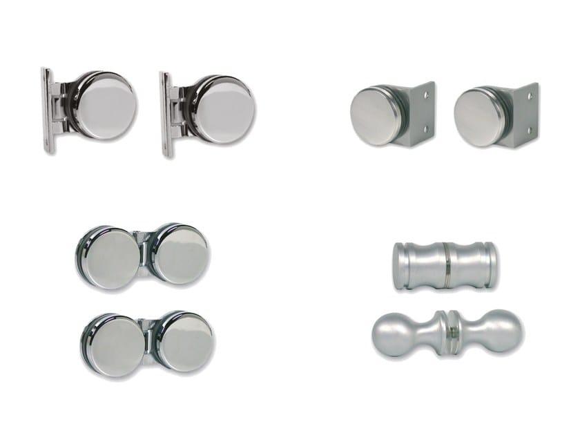 Steel Shower door kit GLASS-WALL by Nuova Oxidal