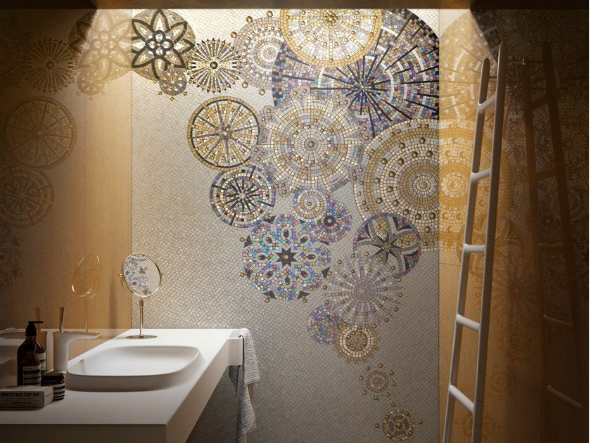 Mosaico in vetro GLASS3 by Sicis